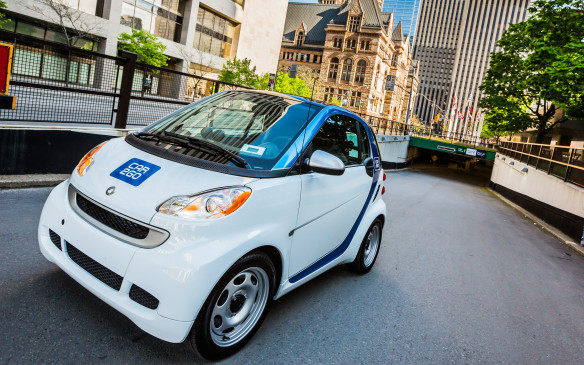 <p>Sales of the Smart have been helped by its visibility in the popular Car2Go fleet, which is now the largest car-sharing organization in the world. Smart EVs have driven more than 35-million km since their introduction to the Car2Go fleet.</p>