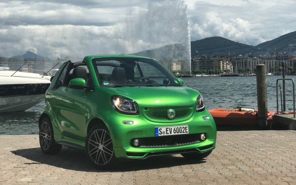<p>In Geneva, the newest Smart Fortwo EV seemed right at home. It will probably find a popular home in Toronto, Montreal and Vancouver, but less so in provinces where there is no rebate.</p>