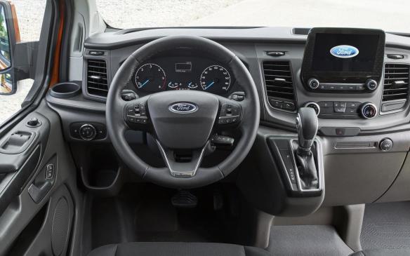 <p>2018 Ford Transit interior</p>