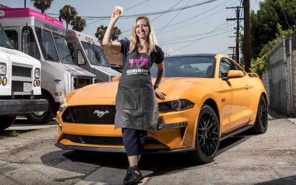 2018 Ford Mustang in Orange Fury