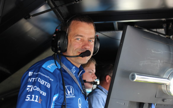<p>Race Engineer: #83 Novo Nordisk Dallara Honda IndyCar</p>