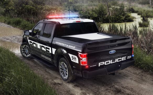 <p>2018 Ford F-150 Police Responder</p>