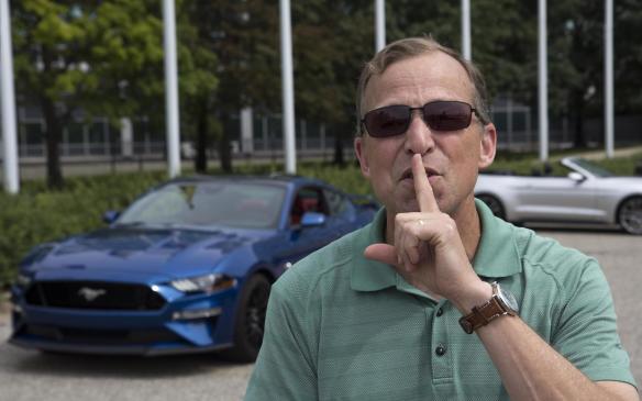 <p>Ford's Steve Von Foerster helped develop Quiet Start</p>