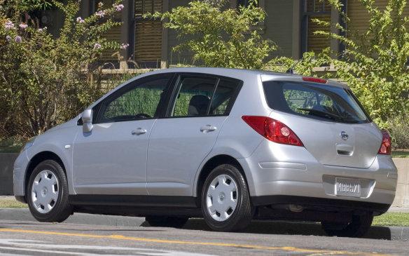 <p>2007 Nissan Versa</p>