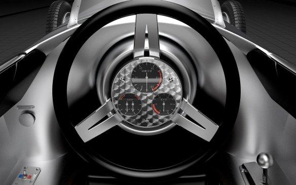 <p>Infiniti Prototype 9 cockpit</p>