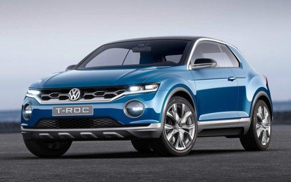 <p>Volkswagen T-Roc Concept</p>