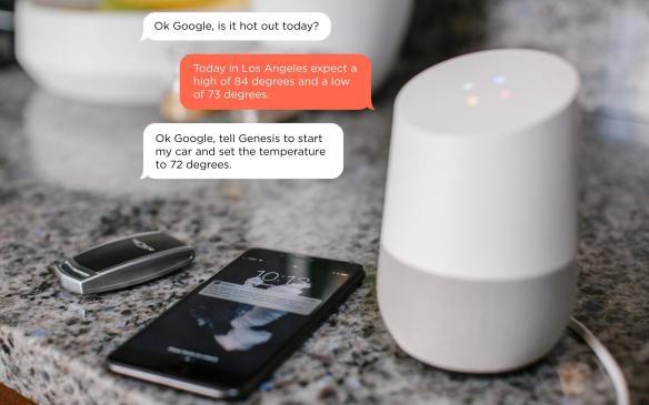 Genesis Google Home Remote Start