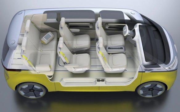 <p>Volkswagen ID Buzz Concept interior</p>