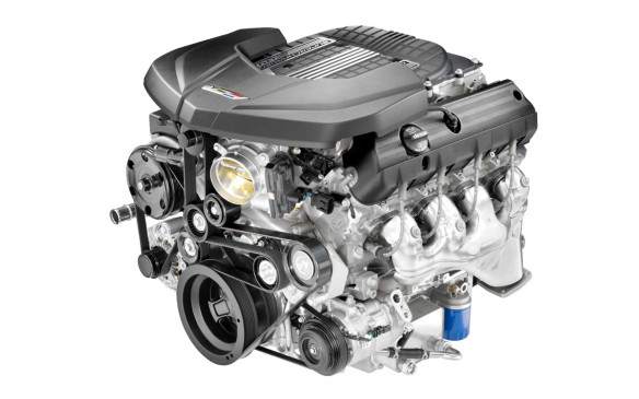 <p>Cadillac CTS-V engine</p>