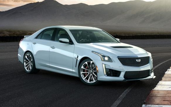 <p>2018 Cadillac CTS-V Glacier Metallic Edition</p>