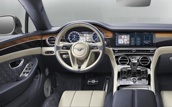 <p>2018 Bentley Continental GT interior</p>