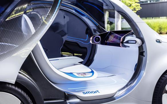 <p>Smart Vision EQ Fortwo interior</p>