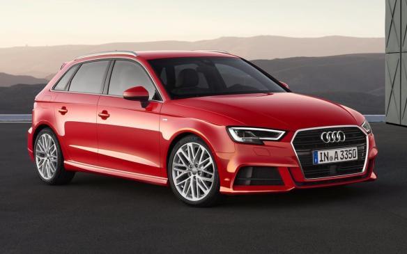 <p>2017 Audi A3 Sportback</p>