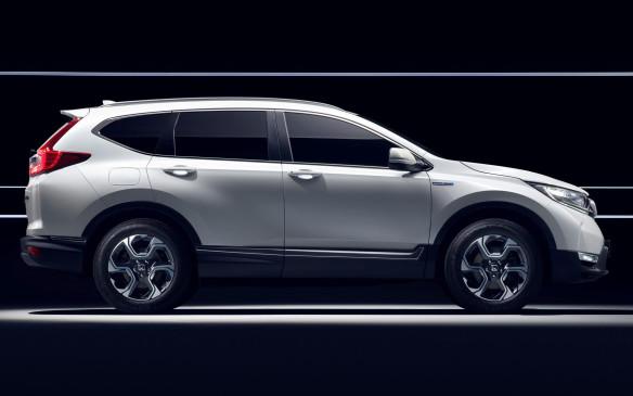 <p>Honda CR-V Hybrid Prototype</p>