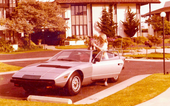 <p>Storied Maserati Khamsin coming to Cobble</p>