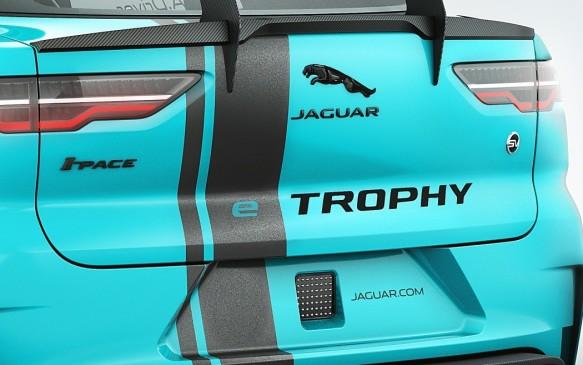 <p>Jaguar I-Pace eTrophy racecar logos</p>
