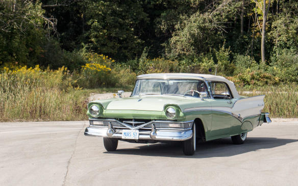 <p>The class winner was this 1957 Meteor Rideau.</p>