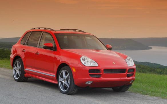 <p>2006 Porsche Cayenne S Titanium</p>