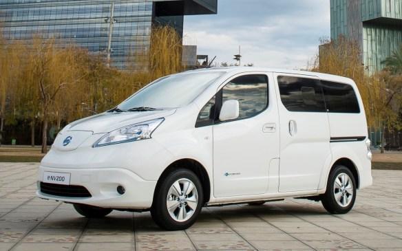 <p>Nissan e-NV200</p>