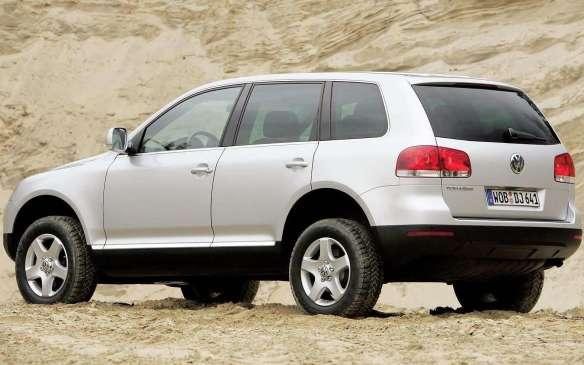 <p>2005 Volkswagen Touareg V6 TDI</p>