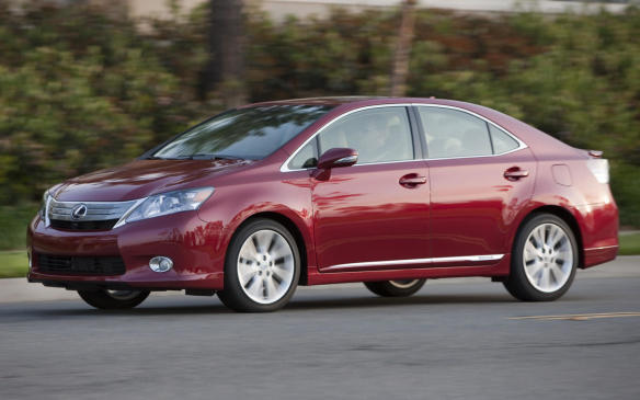 <p><strong>Vehicles: </strong>2010 Lexus HS 250h</p> <p><strong>Number of vehicles affected</strong>: 1,147</p> <p><strong>Details</strong>: The holding plate of the hybrid transaxle assembly may have been crimped improperly during assembly, which could result in excessive wear of the plate, potentially causing irregular movement around the motor shaft, and allow the plate to contact the electric motor coil and lead to a short circuit. This would illuminate warning lights and warning messages in the instrument cluster, and cause the vehicle to go into fail-safe mode, resulting in reduced motive power. In some cases, the hybrid system could shut down, resulting in loss of motive power while the vehicle is in motion, which could increase the risk of a crash.</p> <p><strong>Correction</strong>: Dealers will replace the hybrid transaxle assembly.</p>
