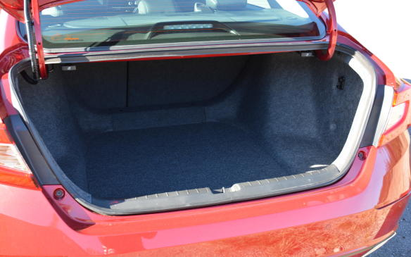 <p>The new Accord is at the top of the mid-size charts when it comes to trunk space with 473 litres across all trim levels. This figure trumps the leaders in this segment including the Hyundai Sonata, Chevrolet Malibu and Ford Fusion. </p>