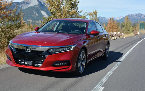<p>The Honda Accord gets a complete redesign for 2018. Now in its tenth-generation – 41 years since its arrival in 1976 – the Accord gets new looks, engines, technology and improved fuel economy that help separate it from the rest of the mid-size sedan pack. Here's a look at some of the key differences that make this new Accord unique.</p> <p>By David Miller</p>