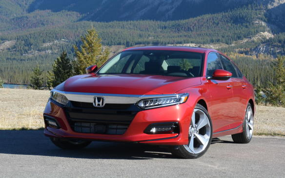 <p>As a whole, the mid-size segment has long been characterized as boring. But, over the last few years, the Mazda6 and Chevrolet Malibu have broken out of that mould to stand out among the pack, while the Camry has come along way from what it was. This new Accord takes exterior styling to a higher level with a sleek coupe-like silhouette and a variety of new grilles, horizontal LED lighting and additional body creases to give it plenty of character.</p>