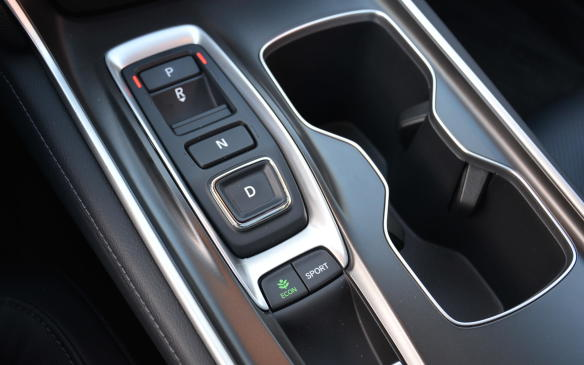 <p>Another first for the Accord is a 10-speed automatic transmission for its 2.0-litre engine. It's the first of its kind in a front-wheel-drive sedan and it helps provide a powerful initial burst of acceleration as it seamlessly moves up through the gears. Initially, a high torque multiplication can hurt fuel economy, but that gets offset in higher gears where a vehicle typically operates most of the time. The automatic option in the 1.5-litre unit is a continuously variable transmission.</p>