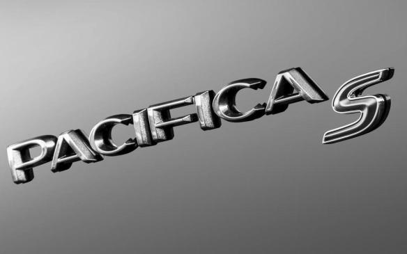 <p>Chrysler Pacifica with S Appearance Package badge</p>