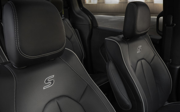 <p>Chrysler Pacifica with S Appearance Package seats</p>