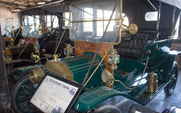 <p>Contrary to popular myth, not all Model Ts were black. In fact, none of the early models, built at Piquette Avenue, were black. They were available only in red, grey or green. And all 1912 models were blue with black fenders. The all-black mantra began in 1913, along with the moving assembly, because black paint took less time to dry. Making them all black speeded up production.</p>