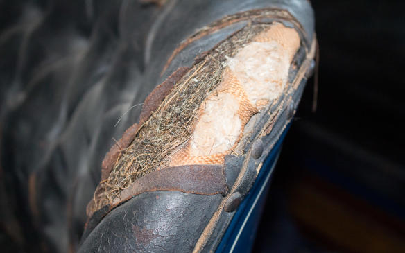 <p>Craftsmanship was key for upholstery, too,and wool, burlap, horsehair and real leather were staples in even the most inexpensive of automobiles.</p>