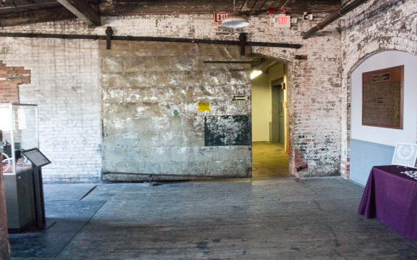 <p>Firewas an ever-present danger in buildings of all types in the early part of the 20th Century so the plant was separated into four separate sections by three fire doors and each section featured sprinkler systems fed by a 25,000-gallon reservoir on the roof.</p>