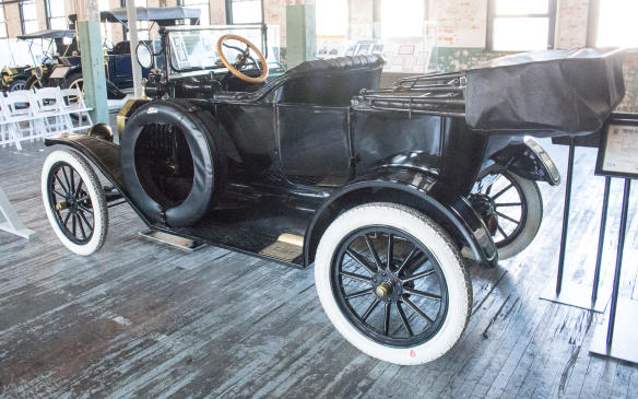 <p>There's even one Model T, from the post-Piquette era, that's accessible for photography or just to sit in, and not just for brides and grooms.</p>