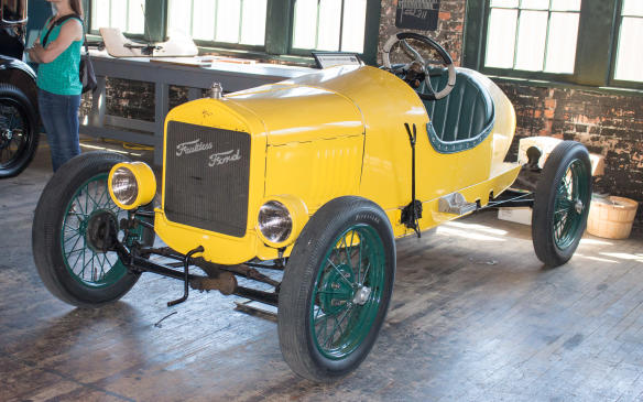 <p>Stripped down speedsters with home-made or aftermarket bodywork became popular, given the extensive supply of low-cost used Model T's that quickly became available.</p>