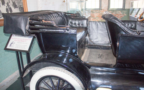 <p>What the Model T did offer in abundance was legroom. Both front and rear, it far exceededeven limousine levels available today.</p>