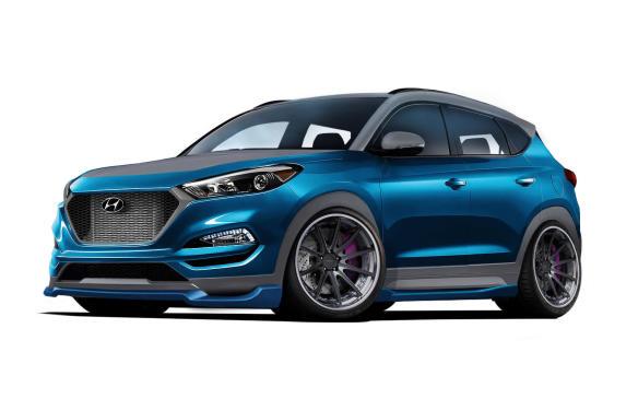<p>2017 SEMA Vaccar Tucson Sport Concept</p>