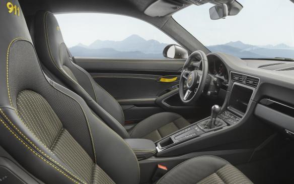 <p>Porsche 911 Carrera T seats</p>