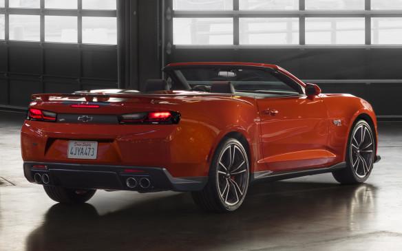 <p>2018 Chevrolet Camaro Hot Wheels convertible</p>