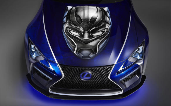 <p>Lexus LC Black Panther Inspired</p>