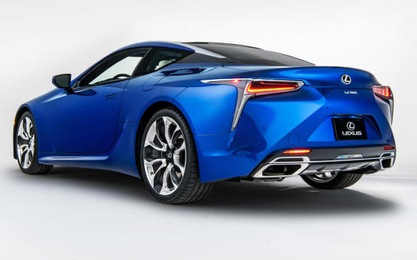 <p>2018 Lexus LC Inspiration Series</p>