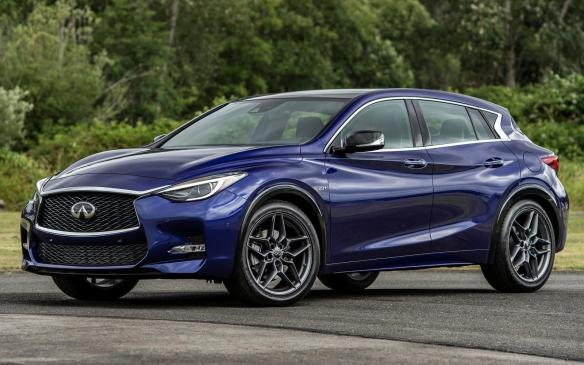 <p><strong>Vehicles: </strong>2017-18 Infiniti QX30</p> <p><strong>Number of vehicles affected</strong>: 1,686</p> <p><strong>Details</strong>: The driver's front airbag could inadvertently deploy due to a combination of electrostatic discharge, broken clock spring (which would result in warning lights illuminating in the instrument cluster) and insufficient grounding of the steering components, which could result in minor injuries to the driver and a potential crash.</p> <p><strong>Correction</strong>: Dealers will add sufficient grounding to the steering components.</p>