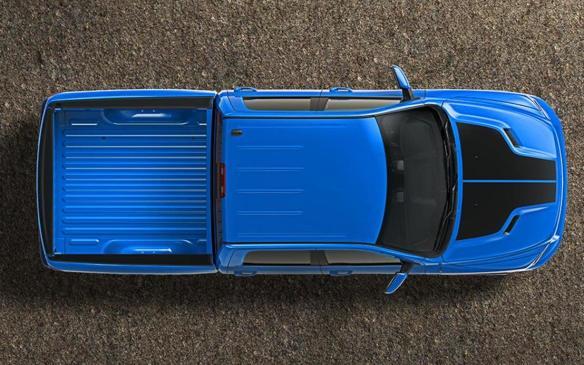 <p>2018 Ram 1500 Hydro Blue Sport</p>