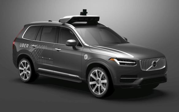 <p>Uber Volvo XC90 autonomous vehicle</p>