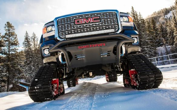 <p>2018 GMC Sierra 2500HD All Mountain Concept</p>