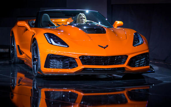 "<p>Chevrolet launched its hyper-powered <a href=""https://autofile.ca/en-ca/auto-news/chevrolet-introduces-most-powerful-zr1-ever-in-dubai"">2019 ZR1 in Dubai</a> earlier this month, in coupe form, and added a convertible version to the program in LA. The new, 755-horsepower ZR1supercar is the fastest, most-powerful Corvette ever, with a top speed of 341 km/h (212 mph) for the coupe and a 0-to-97 km/h (0-to-60 mph) acceleration time of less than three seconds. Power comes from an intercooled and supercharged 6.2 litre V-8 engine that incorporates GM's first dual fuel-injection system – with both primary direct injection and supplemental port injection. The be-winged ZR1 has a total of 13 radiators to deal with all the heat associated with generated by such extreme levels of performance, including circuits for engine oil, transmission and differential cooling.</p>"