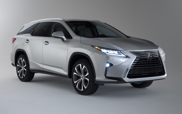 <p>Lexus has revealed its new-for-2018 RX 350L – a three-row variant of the brand's best-selling mid-size luxury crossover, built in Cambridge, Ontario. Lexus extended the RX L's body length by 110 mm (4.3 inches) at the rear, adopting a steeper tailgate window angle than on the two-row models, to ensure adequate headroom for third-row passengers, while providing more cargo room behind the third row than competitors offer. The standard seven-seat version uses a 60/40 split bench-type seat, while the available six-seat configuration features second-row captain's chairs that ease third-row ingress/egress. There will be a hybrid version, designated RX 450hL, as well.</p>