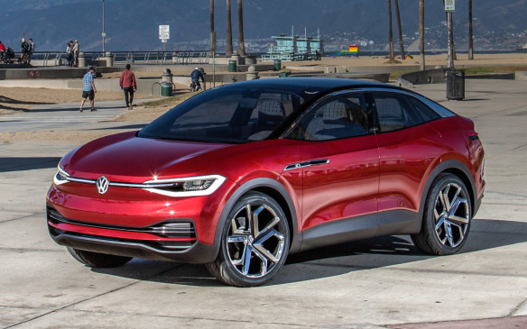 "<p>Volkswagen's first next-generation electric vehicle will be a compact crossover based on the latest iteration of its <a href=""https://autofile.ca/en-ca/auto-news/volkswagen-announces-compact-suv-as-first-next-gen-ev"">I.D. Crozz concept</a> introduced to North America at the Los Angeles Auto Show, after its introduction in Shanghai last spring and update earlier this fall in Frankfurt. It shared the stage with the original I.D. concept that influenced the e-Golf and will lead toward the next-generation compact EV hatchback, and the I.D. Buzz, which will lead to the new Magicbus. All three vehicles will be built using Volkswagen's new modular electric platform, as will the other 12 EVs due by 2025.</p>"