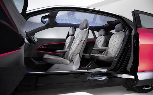<p>Volkswagen I.D. Crozz interior</p>